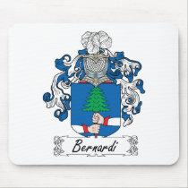 Bernardi Family Crest Mousepad
