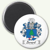 Bernardi Family Crest Magnet