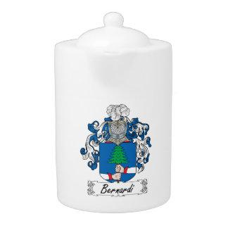 Bernardi Family Crest Teapot