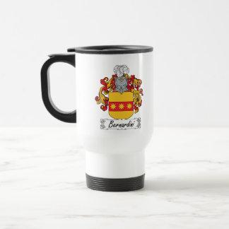 Bernardini Family Crest Travel Mug