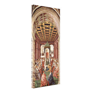 Bernardino di Betto - Enea Silvio Piccolomini Gallery Wrapped Canvas