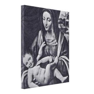 Bernardino Luini - Madonna and Child Canvas Print