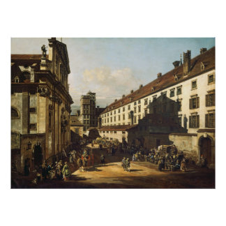 Bernardo Bellotto, called Canaletto - Vienna Poster