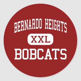 Bernardo Heights - Bobcats - Middle - San Diego Stickers