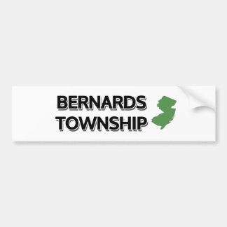 Bernards Township, New Jersey Bumper Sticker