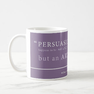 Bernbech on 'Persuasion' Coffee Mug