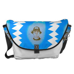 bernd hate messenger bag