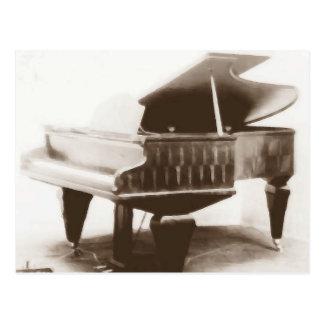Berndl Concert Piano 1908 Postcard