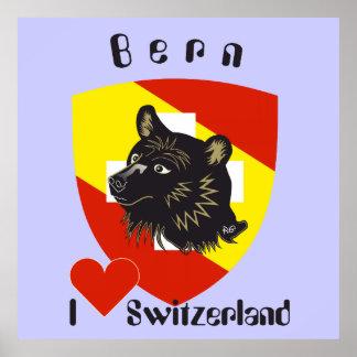 Berne, Berne, Berna, Bärn, Switzerland, Suisse, Po Poster