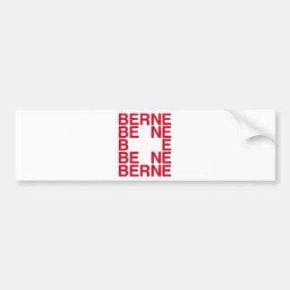 Berne Bumper Stickers