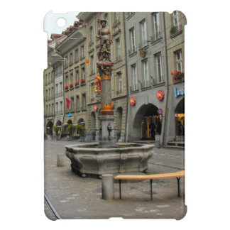 Berne, Knight in armour fountain iPad Mini Cover