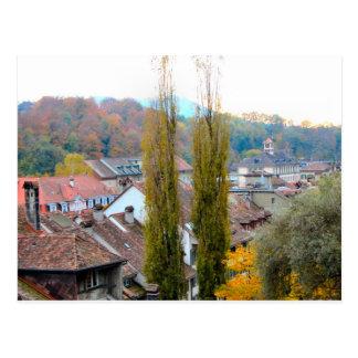 Berne old city - Rooftops Postcard