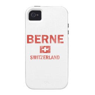 Berne Switzerland Designs Case-Mate iPhone 4 Cases
