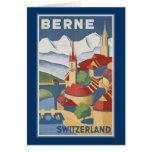 Berne Switzerland Greeting Card