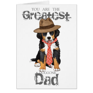 Berner Dad Card