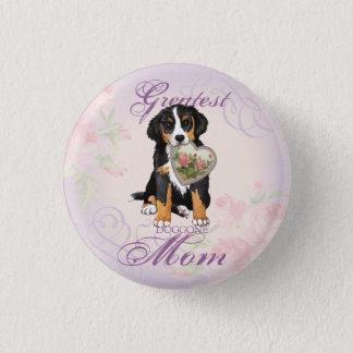Berner Heart Mom Button