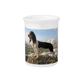 Berner Laufhund Dog Beverage Pitcher