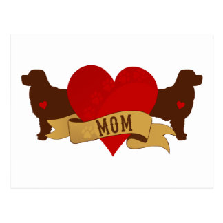 Berner Mom [Tattoo style] Postcard