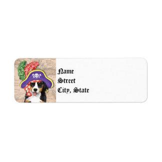 Berner Pirate Label