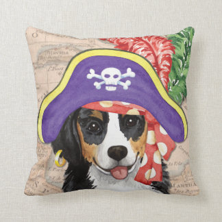 Berner Pirate Throw Pillow