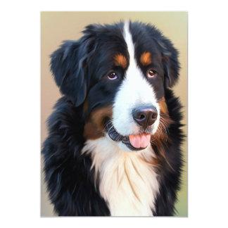 Berner Sennenhund Card