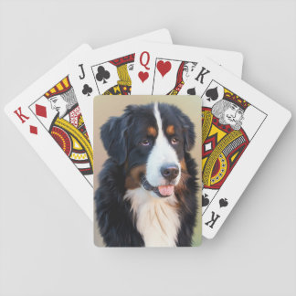 Berner Sennenhund Playing Cards