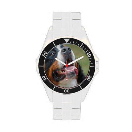 Berner Sennenhund Reloj De Mano
