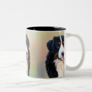 Berner Sennenhund Two-Tone Coffee Mug