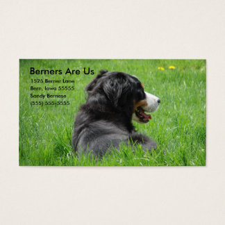 Berners Are Us Business Card
