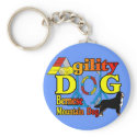 Bernese Agility Gifts keychain