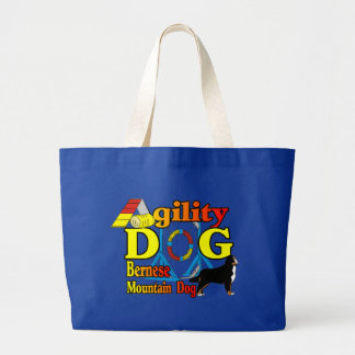 Bernese Agility Gifts Large Tote Bag
