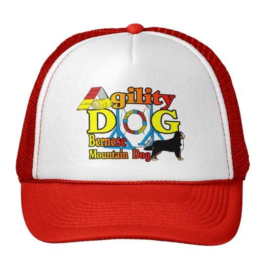 Bernese Agility Gifts Trucker Hat