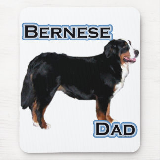 Bernese Dad 4 Mouse Pad