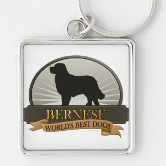 Bernese Keychain