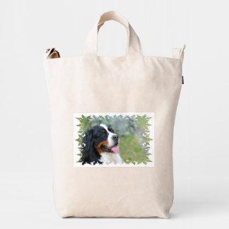 Bernese lindo bolsa de lona duck