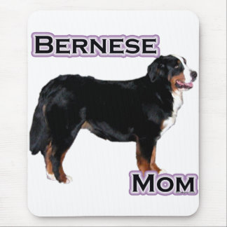 Bernese Mom 4 Mouse Pad