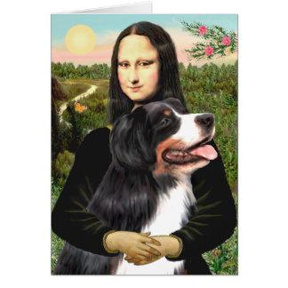 Bernese - Mona Lisa - Customized Card