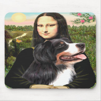 Bernese - Mona Lisa - Customized Mouse Mats