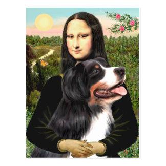 Bernese - Mona Lisa - Customized Postcard