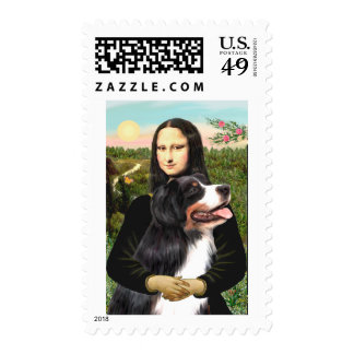 Bernese - Mona Lisa Stamps