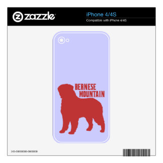 Bernese Mountain Decals For iPhone 4S