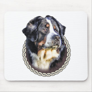 Bernese Mountain Dog 001 Mouse Pad