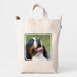 bernese-mountain-dog-14 bolsa de lona duck