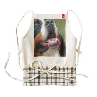 bernese-mountain-dog-14 delantal zazzle HEART
