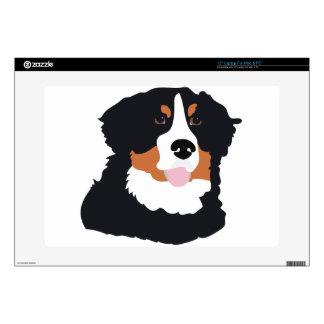"""Bernese Mountain Dog 15"""" Laptop Skins"""