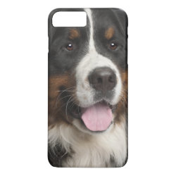 Case-Mate Tough iPhone 7 Plus Case with Bernese Mountain Dog Phone Cases design
