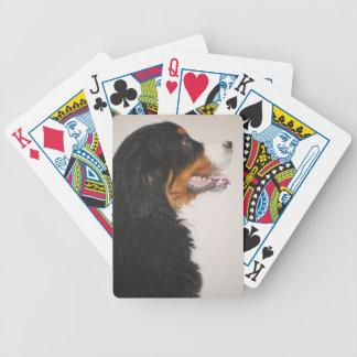 Bernese Mountain Dog 2 Bicycle Playing Cards