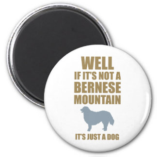 Bernese Mountain Dog 2 Inch Round Magnet
