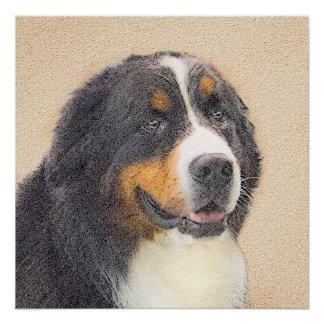 Bernese Mountain Dog 2 Poster