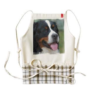 bernese-mountain-dog-7 delantal zazzle HEART